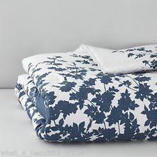 barbara barry sea leaves king duvet cover 3pc set white green blue