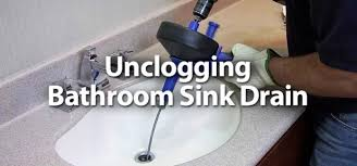 can you plunge a sink how to unclog a bathroom sink drain in the wall