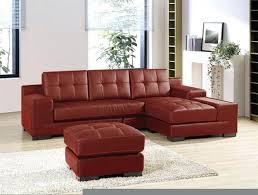 Small Leather Sofa With Chaise Wonderfull Sectional Leather Sofas For Small Spaces Images
