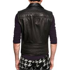 mens motorcycle leathers zipper mens motorcycle leather vest