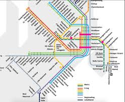 Copenhagen Map Copenhagen Metro U0026 S Tog Map U2013 The College U0027s Guide To Study