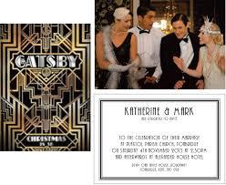Gatsby Invitations Wedding Invitation Wording Gatsby Wedding Invitation Templates