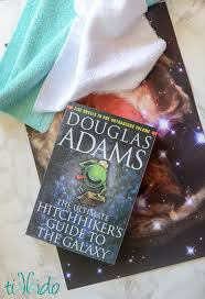 galaxy wrapping paper hitchhiker s guide to the galaxy gift wrapping tutorial tikkido