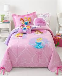 single toddler bed with pink princess bedding set combined with
