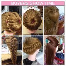 Hair Styling Classes Aliexpress Com Buy 22 U0027 U0027 Blonde Hair Mannequins Professional