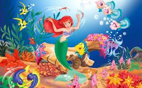 download mobile wallpaper cartoon mermaid free 31083