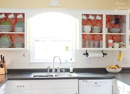 open kitchen cabinets with no doors diy kitchen cabinets simple ways to reinvent the kitchen