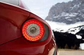 ferrari tail lights ferrari ff to extend in car infotainment with the help of apple u0027s