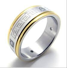 engagement ring for men mens rings stainess steel ring men jewelry 075681 new for sale