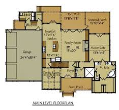 floor plans with 3 car garage 3 story 4 bedroom lake or mountain house plan