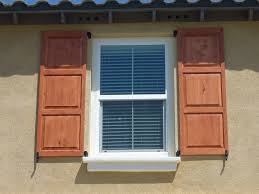 architecture beige paint wall with lowes shutters for exciting