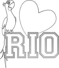 rio 2 coloring pages kids