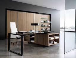 Modern Wood Office Desk Amazing Modern Italian Office Desk Contemporary Throughout
