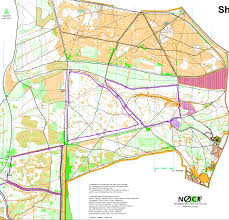 Ord Map Midland Championships 2013 February 3rd 2013 Orienteering Map