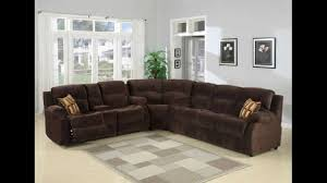 Upholstered Sectional Sofas 3 Pc Tracey Chocolate Plush Microfiber Upholstered Sectional Sofa