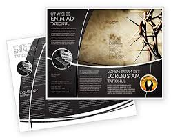 brochure templates adobe illustrator thorns brochure template design and layout on adobe