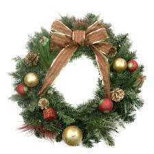 Decorated Christmas Wreaths Artificial by 24 Pre Lit Decorated Pine Cone Balls And Gifts Artificial