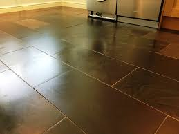 Slate Floor Tiles For Kitchen Dealing With Scratched Slate Floor Tiles In A Surrey Kitchen