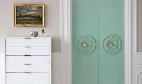 Diy Closet Door Ideas A Chic Diy Closet Door Update
