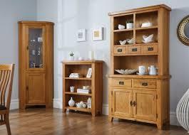 small buffet u0026 hutch oak display cabinet from top furniture