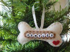 handmade personalised felt tree decorations ornaments