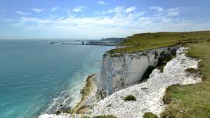 Dover England Map by The White Cliffs Of Dover National Trust