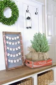 simple chalkboard advent calendar little red brick house