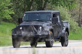 is the jeep pickup truck the jeep wrangler pickup is taking shape