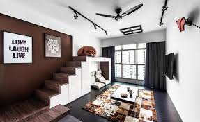 Living Room Design Ideas  Cool Details And Features In HDB Flat - Hdb interior design ideas