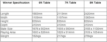average pool table dimensions pool table dimensions room size cm dining standard full image for