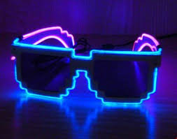 cool light up things pixel light up glasses small things store
