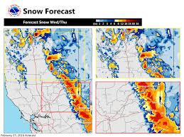 Snow Forecast Map Noaa