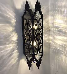 Cast Iron Wall Sconce Iron Wall Sconce Cast Candle Sconces Large For Candles Plants