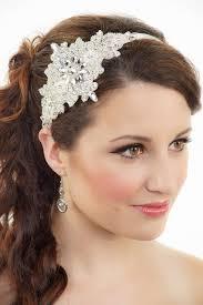 bridal headbands items similar to bridal headband silver headband gatsby deco