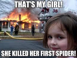 My Girl Meme - disaster girl meme imgflip
