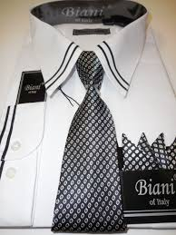 mens business edition dress shirt u0026 tie set fresh white with