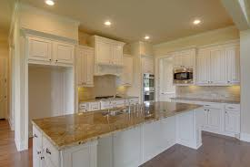 Kitchen Cabinets Kitchen Counter And Backsplash Combinations by White Kitchen Cabinets Tan Countertop Kitchens Pinterest