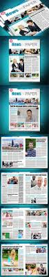 free newspaper layout template indesign resume best of modern newsletter templates pikpaknews newsletter