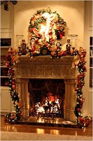 bathroom christmas decorations fireplace wall designs light brown
