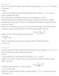 ncert solutions for class 11th maths chapter 7 u2013 permutation and