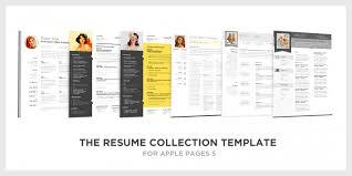 Resume Templates For Mac Mac Pages Resume Templates Jospar