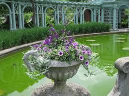 Westbury Botanical Gardens Pond In Walled Garden June 2015 Picture Of Westbury
