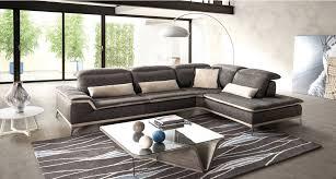 canapé mobilier de canapé d angle avec têtière volare mobilier de