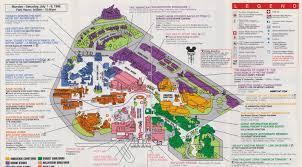 Orlando Disney Map by Angry Ap Disneyland And Walt Disney World Nostalgia Disney Mgm