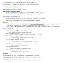 Resume Sample For Teaching by Arabic Teacher Resume Sample Http Resumesdesign Com Arabic