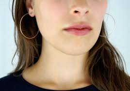 large gold hoop earrings hammered hoops in 14k gold fill large gold hoop earrings