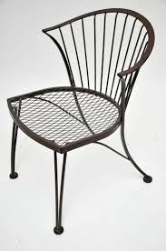 Vintage Woodard Wrought Iron Patio Furniture by Furniture Pretty Rocking Chair In Black Made Of Iron By Woodard