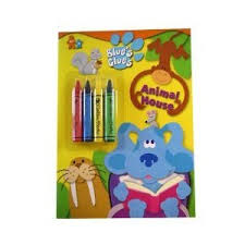blue u0027s clues coloring book u0026 crayon super backpack store