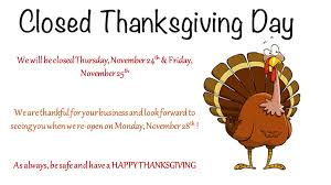 granville vance health we will be closed november 24th