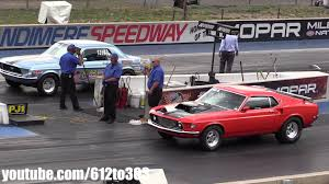 racing mustangs 1969 mustang vs 1967 mustang drag race